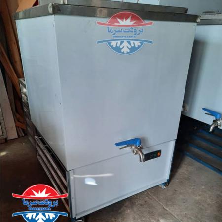 شیر سرد کن 500 لیتری صنعتی تک مخزن