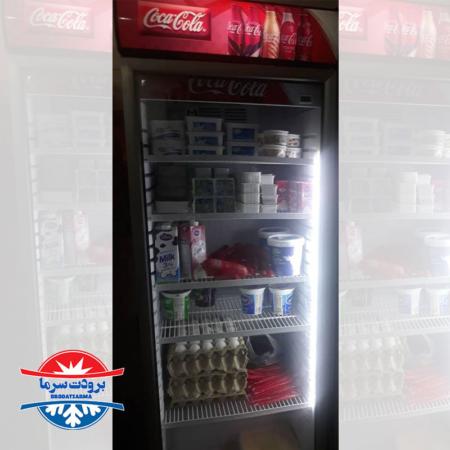 یخچال ایستاده تک درب ۷۰ سانتی ارسالی مشتری زابل