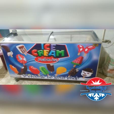 فریزر صندوقی ۶۵۰ لیتری ارسالی مشتری اصفهان