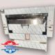 کباب پز تابشی صنعتی اتصال به گاز شهری و کپسول