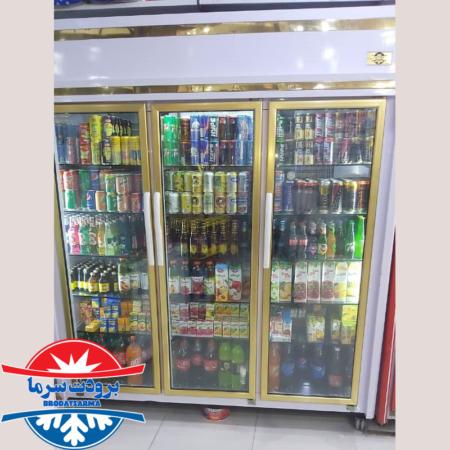 بار ارسالی یخچال سه درب