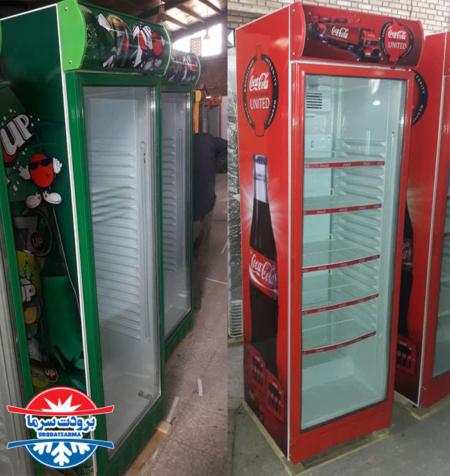 یخچال ایستاده تک درب سوپری 60 سانتی