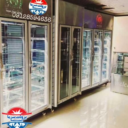 یخچال مخصوص لبنیات پشت بسته گارانتی تعویض موتور