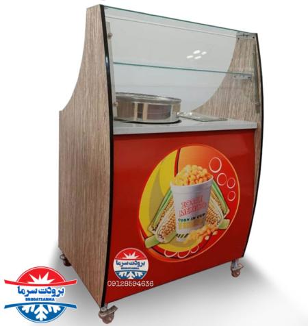 نمایندگی فروش دستگاه ذرت مکزیکی ویترین دارپ