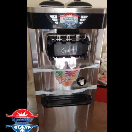 دستگاه بستنی ساز جلاتو ۶۰۰ قیف در ساعت