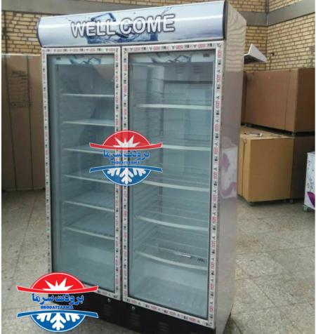 یخچال ایستاده دو درب طول ۱۲۰ سانتی