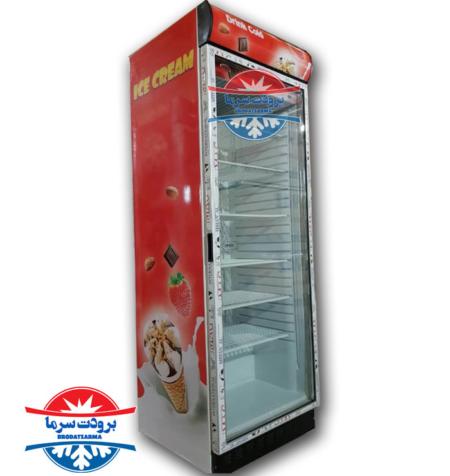 یخچال نوشیدنی تک درب سوپرمارکتی