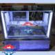 یخچال ویترینی لبنیاتی دارای انباری و بنماری