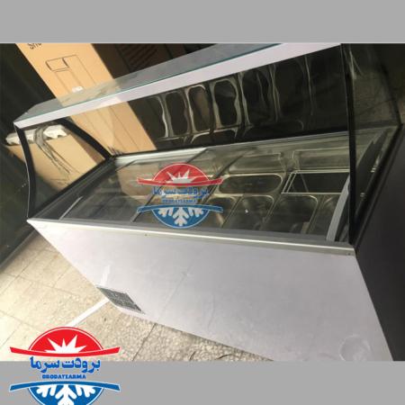 تاپینگ بستنی فانتزی ۱۲ لگن کم حجم با قیمت بصرفه