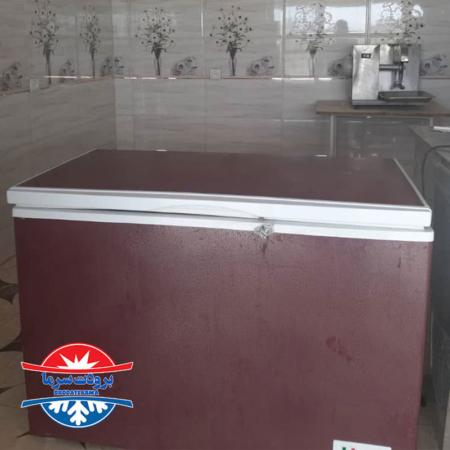فریزر صندوقی ۲۶۰ لیتر ارسالی مشتری شهرستان میناب