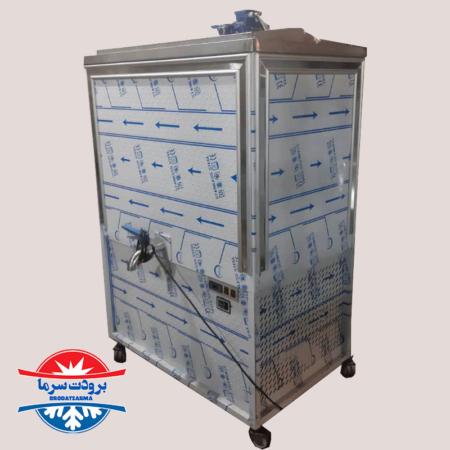 شیر سرد کن ۲۰۰ لیتری صنعتی استیل