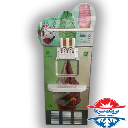 دستگاه بستنی ساز صنعتی تک فاز نیکنام