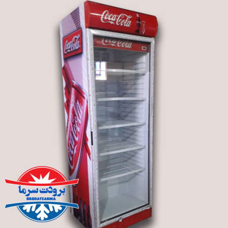 یخچال ایستاده نوشیدنی تک درب فروشگاهی