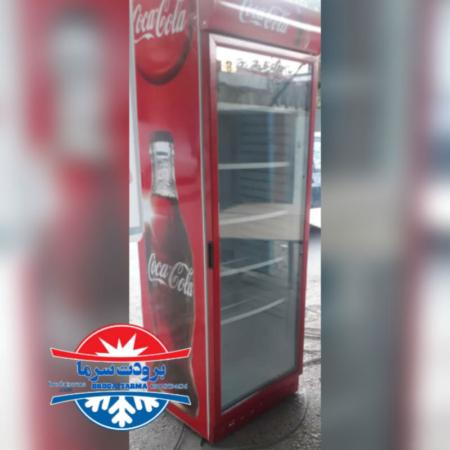 یخچال سوپرمارکتی ارسالی مشتری خرم آباد