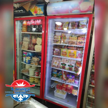یخچال ایستاده سوپرمارکتی ارسالی رشت