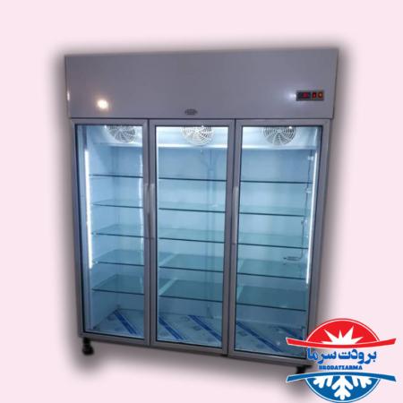 یخچال ایستاده ۳ درب دارای سیستم نوفراست