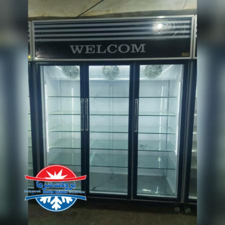 یخچال سه درب نوفراست ارسالی بندر دیلم بوشهر