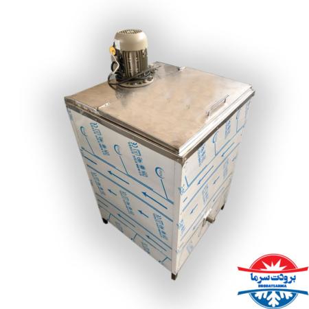 دستگاه کره گیر بدنه استیل 200 لیتری