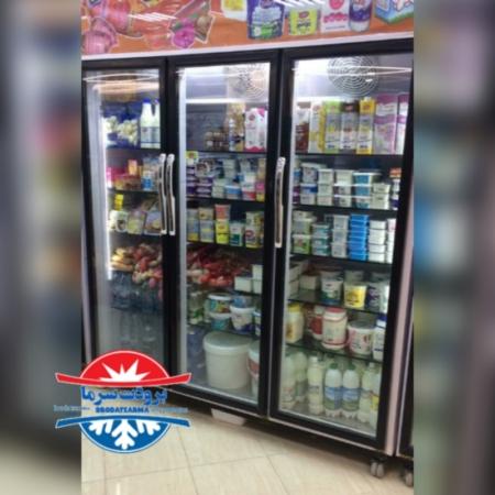 یخچال ۳ درب ایستاده ارسالی مشتری بوشهر