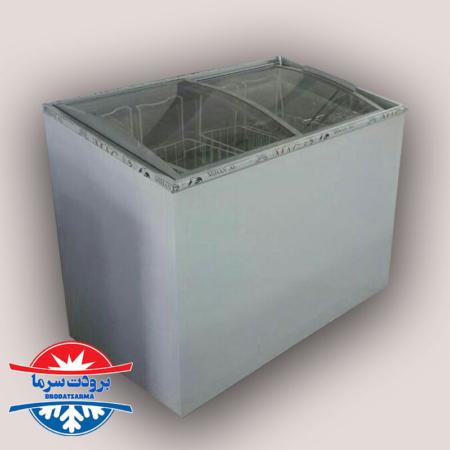 فریزر صندوقی ۳۰۰ لیتری فروشگاهی