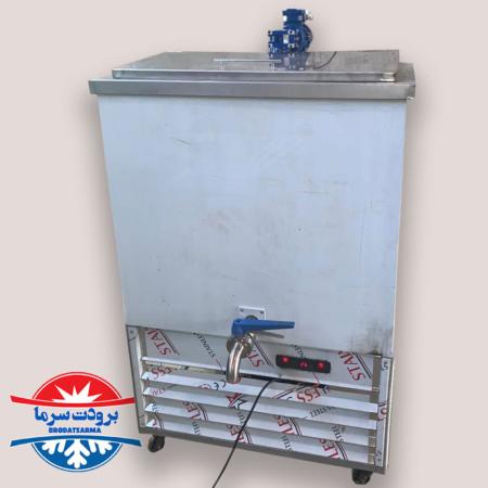 دستگاه شیر سرد کن 300 لیتری مخصوص گاوداری