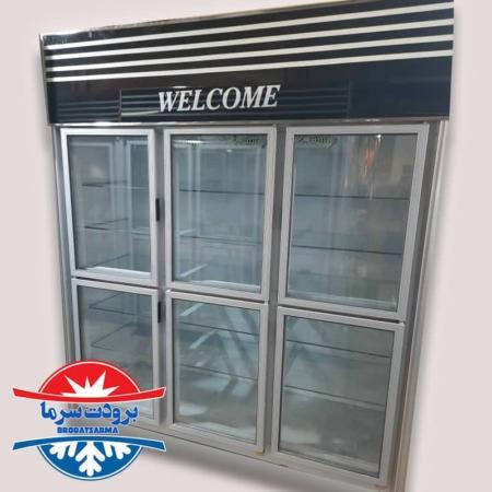 یخچال ۶ درب ایستاده سیستم سرمایشی بادی