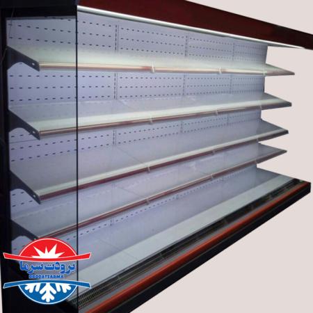 یخچال فروشگاهی بدون درب بدنه ماموت ABS