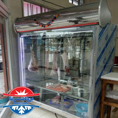 یخچال قصابی بار ارسالی مشتری از سمنان
