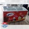 فریزر بستنی صندوقی درب شیشه ای محدب 600لیتری