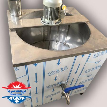 دستگاه پاتیل پخت شیر حجم 500 لیتری