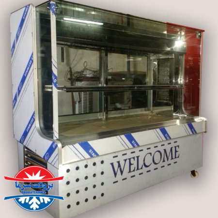 یخچال ویترینی شیرینی فروشی و قنادی