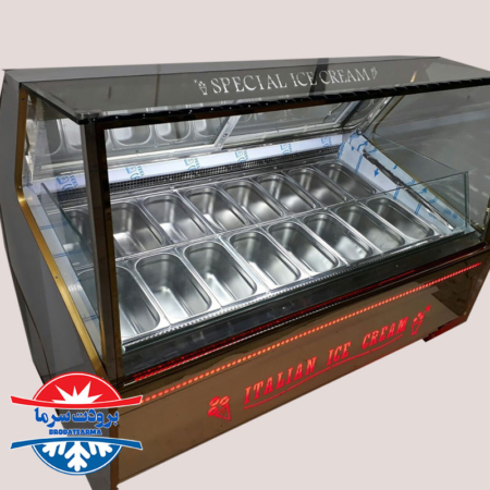 یخچال بستنی اسکوپی 16 لگن