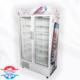یخچال دو درب ایستاده فروشگاهی 120 سانتی