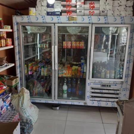 یخچال صنعتی سه درب ارسالی شهرستان سیریک