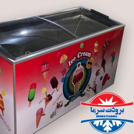 قیمت فریزر صندوقی بستنی حجم 650 لیتر