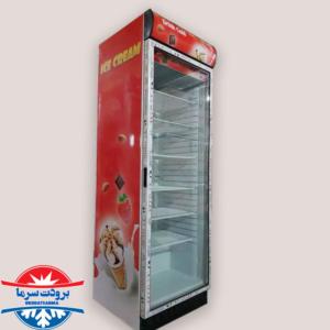 یخچال تک درب