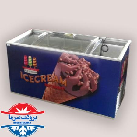 قیمت فریزر صندوقی بستنی سوپرمارکتی