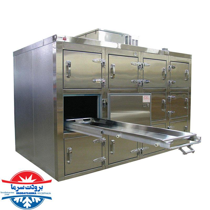 دمای استاندارد سردخانه جسد